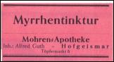 Etikette Myrrhentinktur