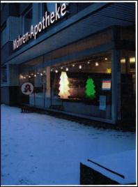 Weihnachten am neuen Standort